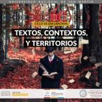 Ciclo de encuentros <i>Textos, Contextos y Territorios</i>