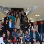 Primera reunión del equipo docente del Instituto del Transporte