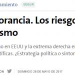 <i>La Nación</i> consultó a Diego Hurtado y a Martín Plot sobre antiintelectualismo