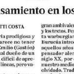 Laura Malosetti Costa escribió en <i>Ñ</i> sobre José Emilio Burucúa