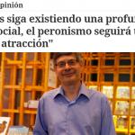 Entrevista a Raanan Rein en <i>Clarín</i>