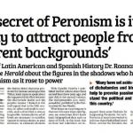 Entrevista a Raanan Rein en el <i>Buenos Aires Herald</i>
