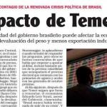 <i>Noticias</i> consultó a Enrique Dentice sobre el impacto de la crisis política en Brasil