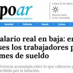 Nota en <i>Tiempo Argentino</i> sobre un informe del CETyD