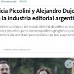 <i>La Nación</i> entrevistó a Alejandro Dujovne sobre la industria editorial argentina