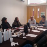 El Consejo de Escuela recibió a Daniel Di Gregorio y a Ana Castellani