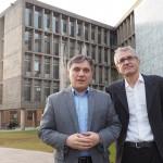 Alejandro Vigo y Denis Thouard disertaron en la Cátedra de Hermenéutica