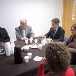 Carlos Greco y Alberto Frasch dialogaron con los consejeros de Escuela
