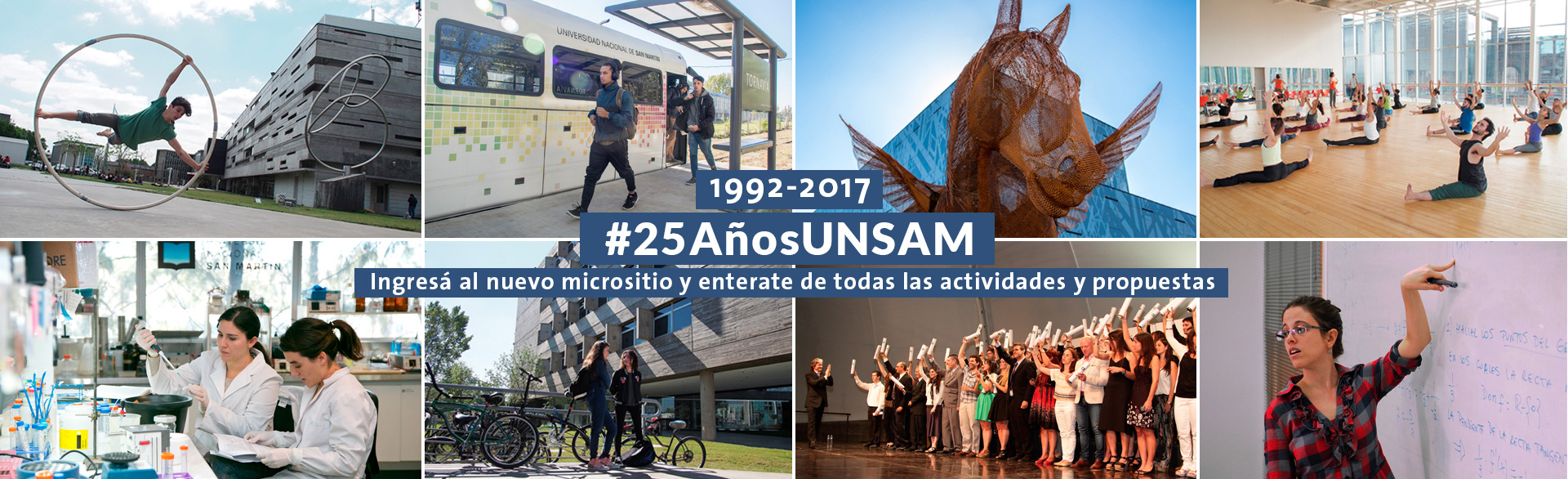 #25AñosUNSAM