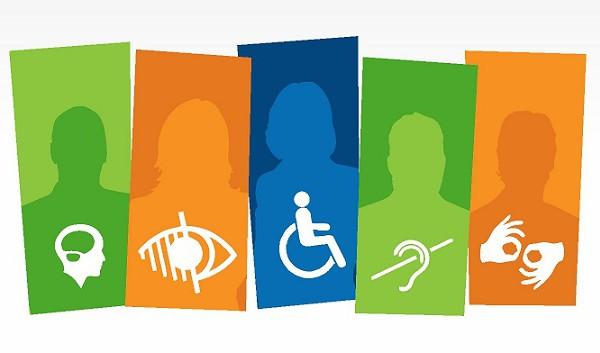Personas con discapacidad intelectual, ciegas, sordas, personas con movilidad reducida