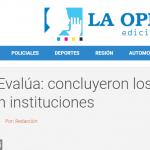 <i>La Opinión</i>, de Santa Fe, consultó a Julián Bertranou