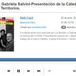 Entrevista a Gabriela Salvini en el programa radial <i>Quererse libre</i>