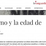 Valeria Llobet escribe en <i>La Vanguardia</i> sobre el sistema penal juvenil