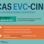 Becas de estímulo a las vocaciones científicas (CIN 2017) – (convocatoria cerrada)