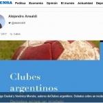 Reseña de <i>Clubes argentinos. Debates sobre un modelo</i> en <i>La Prensa</i>