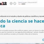 Diego Hurtado habla del rol del Estado en la actualidad de la ciencia y de la situación de ARSAT