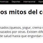 <i>Télam</i> consultó a Mariela Cardozo sobre los lácteos