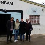 Docentes de la UAHC visitaron la UNSAM
