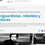 <i>Página/12</i> destacó la Cátedra Abierta de Poesía Latinoamericana de la UNSAM