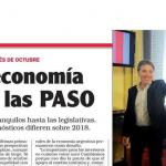 Enrique Dentice escribió sobre la economía después de las PASO para la revista <i>Noticias</i>
