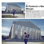 La reedición del <i>Partenón de libros prohibidos</i>, de Marta Minujin, en <i>Zarpado</i>