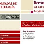 """El CUSAM participó de las XII Jornadas de Sociología """"Recorridos de una (in)disciplina"""""""