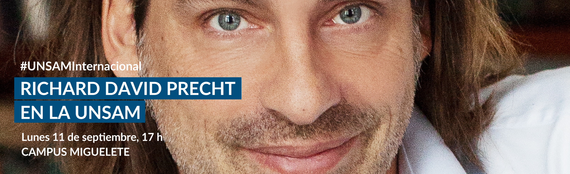 Richard Precht en la UNSAM