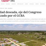 <i>Clarín</i> destacó el proyecto Urbanismo de Bolsillo en el que trabajó la UNSAM