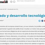 Erica Carrizo escribió para <i>Página/12</i> sobre el rol del Estado en el desarrollo tecnológico