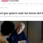 Entrevista a J. M. Coetzee en <i>Clarín</i>