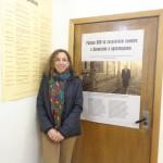 Nerina Visacovsky visitó el Centro de Investigaciones sobre el Holocausto de Rusia