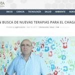 Oscas Campetella habló con la Agencia CyTA por las nuevas terapias contra el chagas