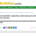 <i>El Rural.com</i> citó un trabajo de la investigadora del IDAES Patricia Aguirre