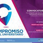 Compromiso Social Universitario: Abierta la convocatoria 2017