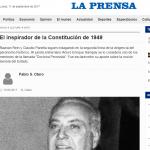 Reseña en <i>La Prensa</i> del libro <i>Los Indispensables</i>, editado por UNSAM EDITA