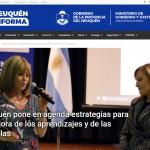 <i>Neuquén Informa</i> cubrió una conferencia dictada por Silvina Gvirtz