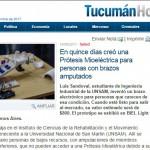 <i>Tucumán Hoy</i> destacó el proyecto de un alumno de la UNSAM