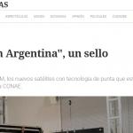<i>Clarín</i> consultó a Livio Gratton por el lanzamiento de dos satélites