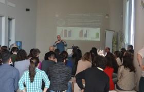 Mateus Cardoso durante su seminario en la FAN