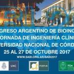 XXI Congreso Argentino de Bioingeniería y X Jornadas de Ingeniería Clínica