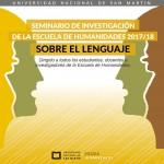 """Último encuentro del ciclo """"Sobre el lenguaje"""""""