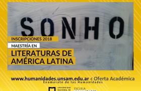 Maestría en Literaturas de América Latina