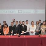 Los flamantes egresados del Instituto Sabato recibieron su diploma