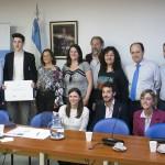 Un alumno de la UNSAM fue distinguido por la Cámara de Diputados de la Nación