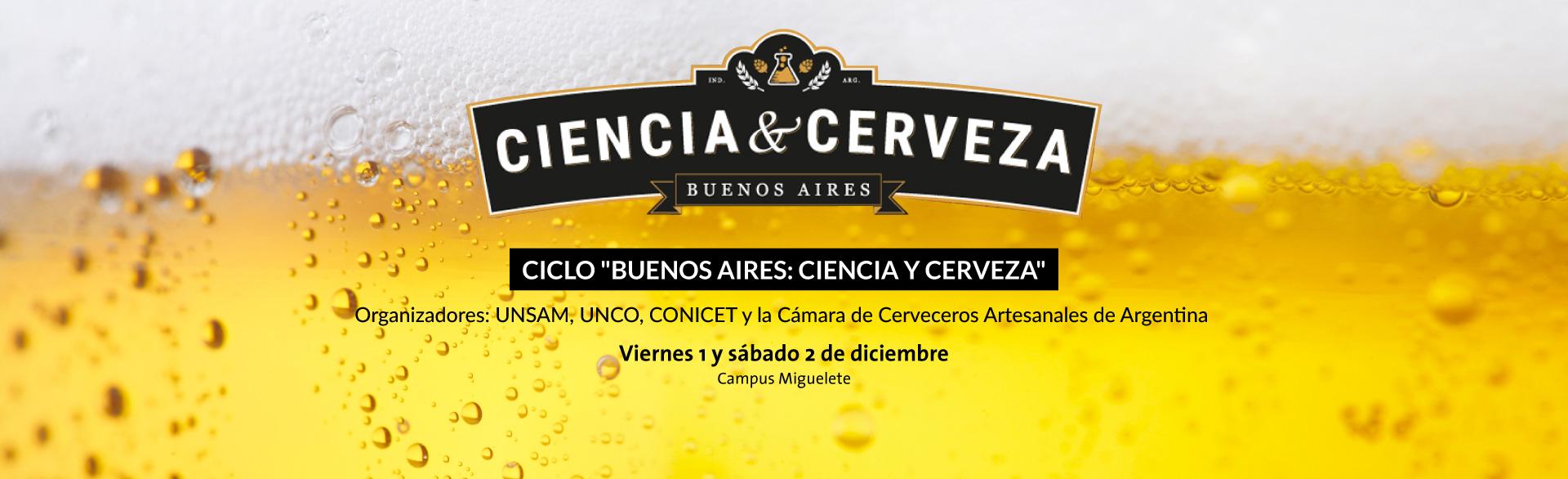 """Ciclo """"Buenos Aires: Ciencia y cerveza"""""""