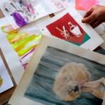 Muestras de los egresados de la Diplomatura en Artes Visuales