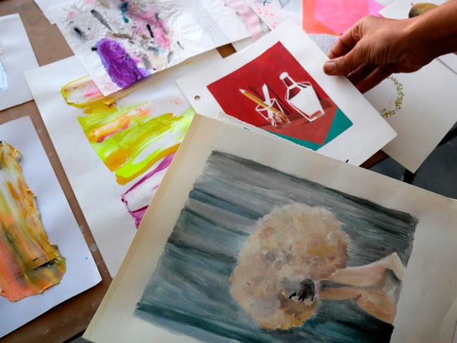 Muestra de Artes visuales