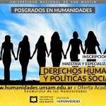 Posgrados en Derechos Humanos: Inscripción 2018