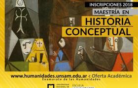 Maestría en Historia Conceptual