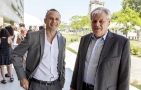 Juan Ugalde y Alberto Carlos Frasch